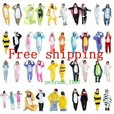 AU32.96 • Buy Cute Animal Bodysuit Pajamas  Costume Pyjamas Adult Unisex Sleepwear