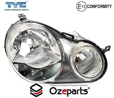 AU135.62 • Buy RH RHS Right Hand Head Light Lamp Twin Round For VW VolksWagen Polo 9N 02~05