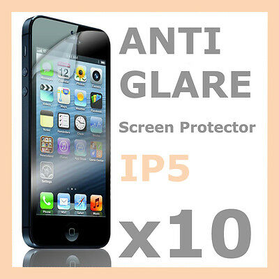 AU2.59 • Buy 10 X Anti Glare LCD Matte Screen Protector Guard Film Cover For Apple IPhone 5