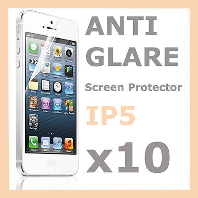 AU2.59 • Buy 10 X Matte Anti Glare Screen Protector LCD Film For Apple IPhone 5S 5C 5 5G