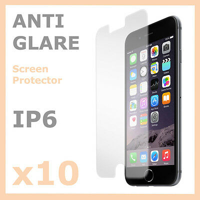 AU2.95 • Buy 10 X New Anti Glare Matte Screen Film Protector Guard For Apple IPhone 6 6S 6 +