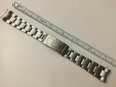 $ CDN77.63 • Buy Solid Oyster Band Bracelet For Rolex Submariner Fat Spring Bar 20mm 93150 F/lock