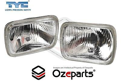 AU48.69 • Buy Pair Of Head Light Lamp With Park Light Hole For Ford F100/F150/F350