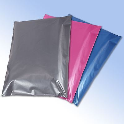 £4.75 • Buy 50 Mixed Mailing Postage Bags Grey Pink Blue In 4 Sizes