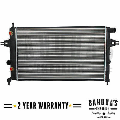 £59.95 • Buy Manual / Automatic Radiator For Vauxhall Astra G Mk4 / Zafira A Mk1 1998 To 2005