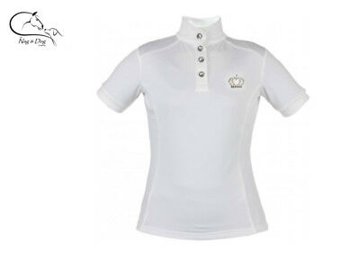 £39.95 • Buy Horka Olympia Ladies Technical Competition Show Shirt Jumping & Dressage
