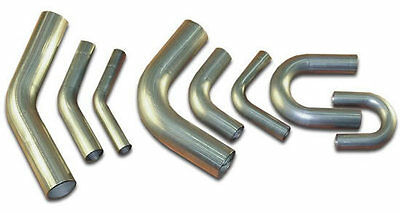 Stainless Steel Mandrel Bends Elbows 90 45 180 Degree Angles All Sizes 25mm-76mm • 9.50£