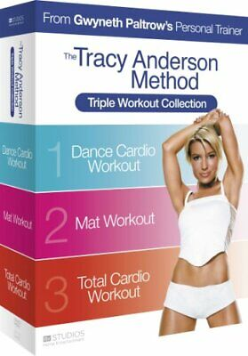 Tracy Anderson Method: Triple Workout [DVD] - DVD  QAVG The Cheap Fast Free Post • 4.19£