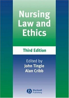 Nursing Law And Ethics, Third Edition Paperback Book The Cheap Fast Free Post • 5.99£