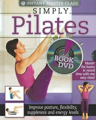 Instant Master Class Simply Pilates Book And DVD (PAL) By Hinkler Books Pty Ltd • 3.99£