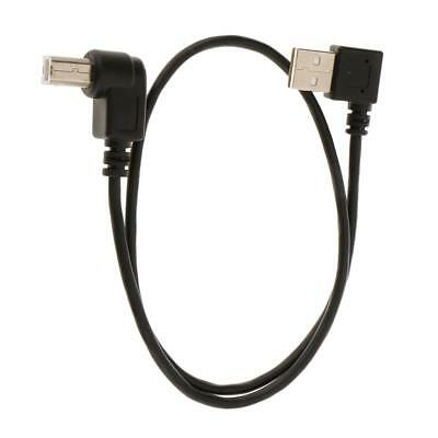 AU6.17 • Buy USB A Male To USB B Male Right Angle Printer Cable