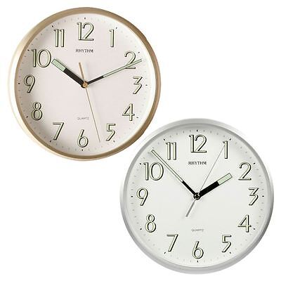 Rhythm 23cm Kitchen Wall Clock With Super Luminous Display For Ease Of Use • 21.39£