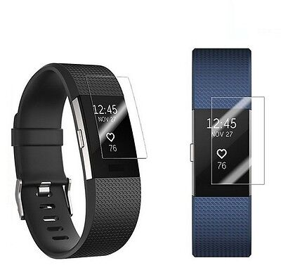 $ CDN3.26 • Buy Crystal Clear Invisible Screen Protector Guard For Fitbit Charge 2 HR