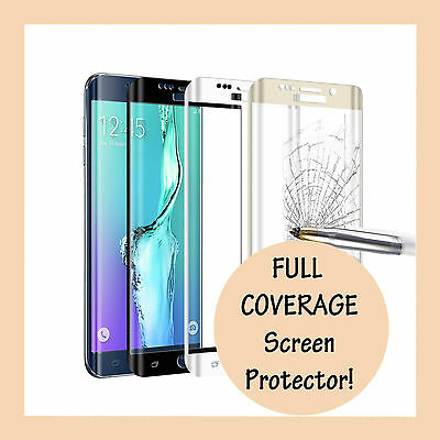 AU6.49 • Buy FULL COVERAGE Tempered Glass Screen Protector For Samsung Galaxy S8 S9 S10 Plus+