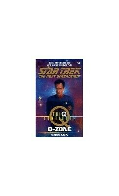 $ CDN10.24 • Buy Q-Zone (Star Trek: The Next Generation) By Cox, Greg Paperback Book The Cheap