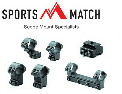 Sportsmatch UK Scope Mounts From 1  To 34mm  • 36.95£