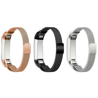 AU11.56 • Buy Stainless Steel Metal Band Wrist Watch Strap Bracelet Clasp For Fitbit Alta HR