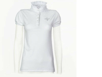 £42.35 • Buy Ladies Short Sleeve Shirt Horse Riding Show Showing Dressage Eventing Jumping