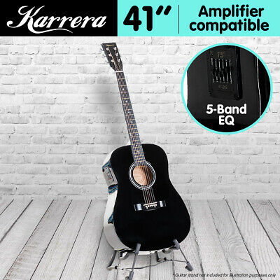 AU95 • Buy 41in KARRERA ACOUSTIC GUITAR String Music Instrument