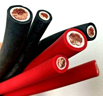 AU2.55 • Buy Extreme Battery Cable Flexible OFC Copper 6, 4, 2, 1 Gauge AWG Size By The Foot
