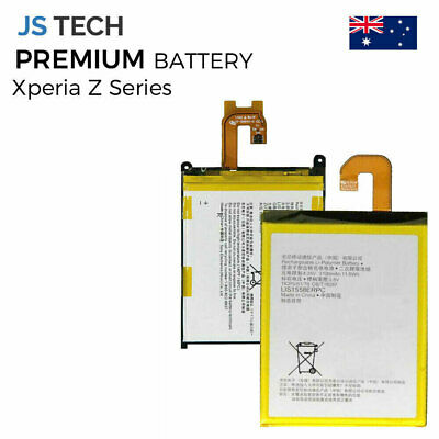 AU18.95 • Buy New For Sony Xperia Z Z1 Z2 Z3 Z4 Z5 Compact Premium Replacement Battery
