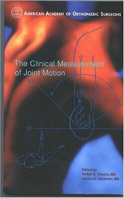 £5.99 • Buy The Clinical Measurement Of Joint Motion Paperback Book The Cheap Fast Free Post