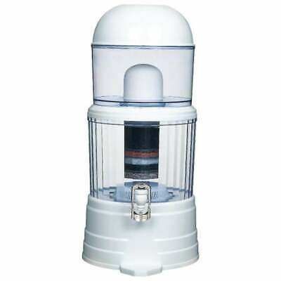 AU52.99 • Buy 14L Benchtop 8 Stage Water Filter Ceramic Carbon Mineral Stone Silica Purifier