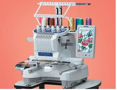 £8999 • Buy Brother PR1055X Embroidery Machine Industrial  USB Ports 10 Needle  0% Finance
