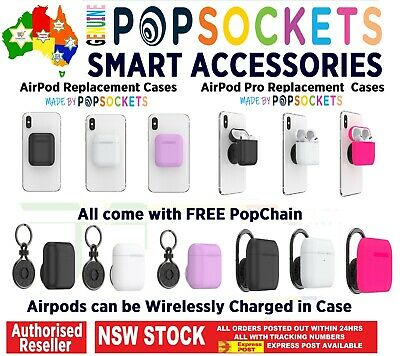 AU34.50 • Buy PopSockets Holder Case For Apple AirPods & Pro Wireless Charging Compatiable