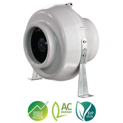 4  5  6  8  10  12  High Power Inline Duct Extractor Fan Kitchen Bath Hydroponic • 46.76£