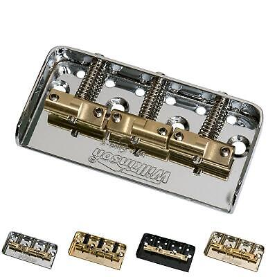 £18.99 • Buy Wilkinson WTBS Bridge - Compensated Brass Saddles To Fit Telecaster