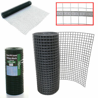 Marko 1  Galvanised Welded Wire Mesh Aviary Fence Panel PVC Coated Chicken Wire • 44.99£