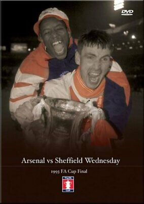 1993 Fa Cup Final - 1993 FA Cup Final Arsenal FC V Sheffield Wedn... - DVD  2QVG • 26.50£
