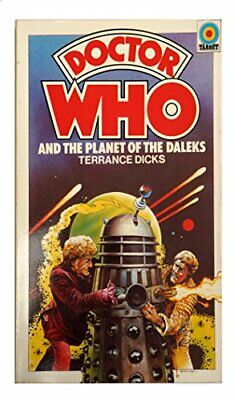 Doctor Who And Planets Of The Daleks By Dicks, Terrance Paperback Book The Cheap • 10.99£