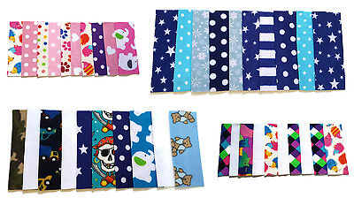 £4.99 • Buy NEW NEWBORN Fleece Nappy Liners For Cloth Nappies Various Designs Set Of 10