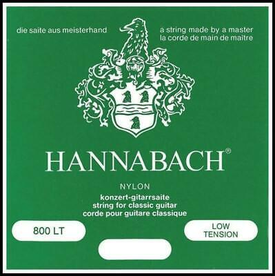 $ CDN27.02 • Buy Hannabach 800 Classical Guitar Strings Set  Low Tension 800 LT Nylon/Silver