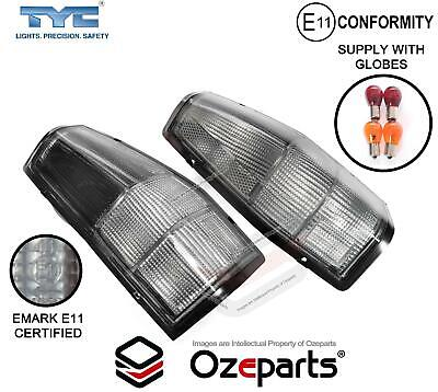 AU66.48 • Buy Pair Tail Light Clear Smokey For Ford Falcon XD XE XF XG XH Ute Panel Van 81~98