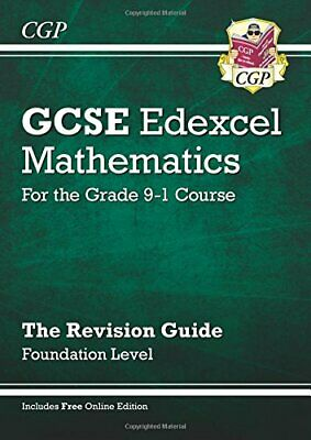£3.29 • Buy New 2021 GCSE Maths Edexcel Revision Guide: Foundation In... By Parsons, Richard