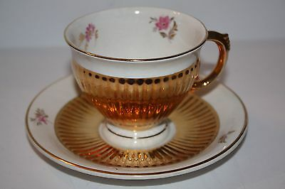 $ CDN35.50 • Buy Royal Winton Grimwades England Gold Teacup And Saucer