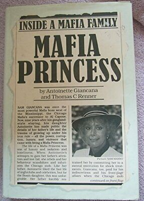 Mafia Princess By Renner, Thomas C. Hardback Book The Cheap Fast Free Post • 4.32£