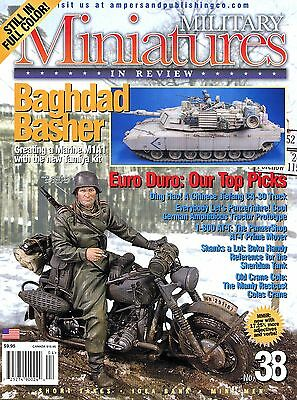 $11.99 • Buy Military Miniatures In Review Magazine No 38 A Marine M1A1 New Tamiya Kit