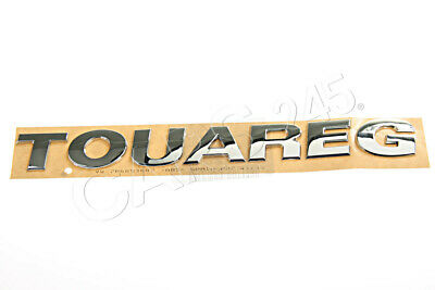 Genuine VW Touareg 2011- Rear Nameplate Label Badge Emblem • 72.59£