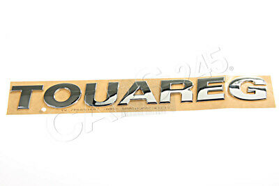 Genuine VW Touareg 2011- Rear Nameplate Label Badge Emblem • 67.51£