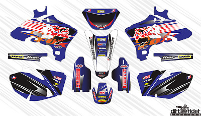 $75 • Buy 5028 Yamaha Wr 250 F Wr 450 F 2003-2006 Decals Stickers Graphics Kit