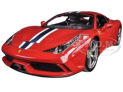 Ferrari 458 Speciale Red 1:18 Diecast Model Car By Bburago 16002 • 26.18£