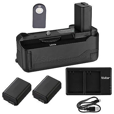 AU106.71 • Buy Vivitar Battery Grip For Sony A6000 + 2x NP-FW50 Battery +USB Dual Charger