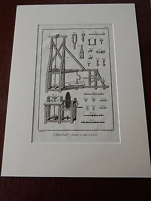 OPTICIAN OPTICAL  Amazing Mounted 1700s Engravings Equipment Et  GIFT POTENTIAL • 149.99£