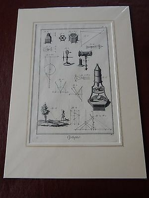 OPTICIAN OPTICAL  Amazing Mounted 1700s Engraving Equipment E  GIFT POTENTIAL • 149.99£