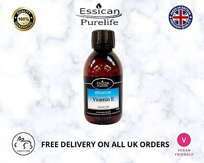 £10.99 • Buy VITAMIN E OIL CERTIFIED PURE AND NATURAL AROMATHERPY  200ml BOTTLE.