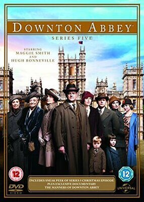 Downton Abbey - Series 5 [DVD] - DVD  GGVG The Cheap Fast Free Post • 14.51£